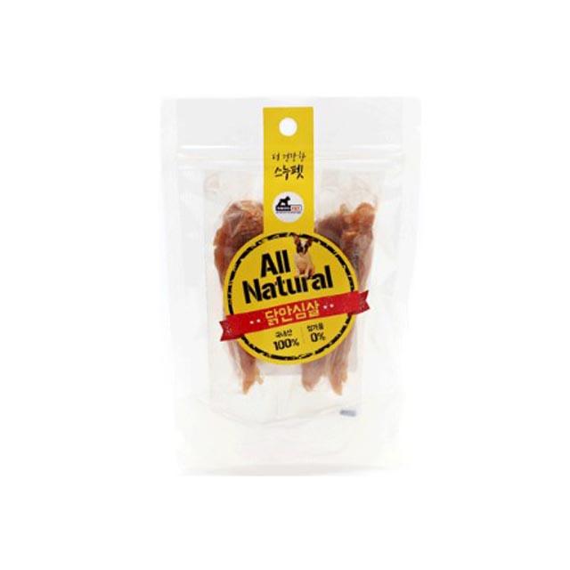 스누펫 100% 닭안심살 40g