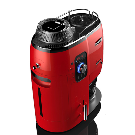엔파체 전자동 커피머신 (레드)